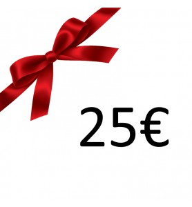 Photo  Bon Cadeau 25 €